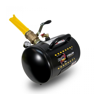 CYCLONE X-SERIES BEAD SEATER, 8 GALLON STEEL TANK