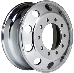 22.5 x 8.25 Thor Forged - 10 Bolt Double Polished